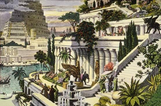 Babylonské zahrady hydroponie