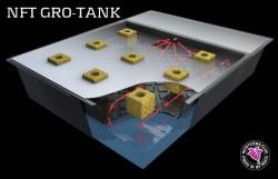 Hydroponické techniky - Gro-Tank NFT - aktivní hydroponický systém od firmy Nutriculture